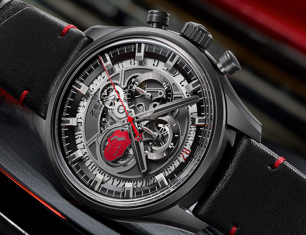 Zenith El Primero Skeleton Tribute To The Rolling Stones Replica Watch Replica Watch Releases