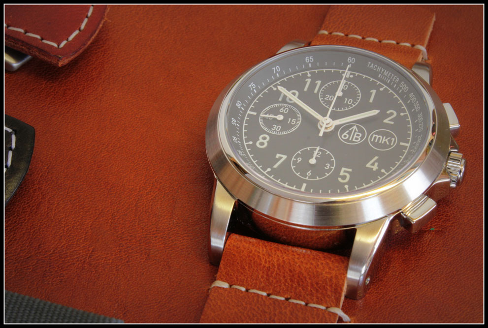 6B Watches And The 6645 MK1 Limited Pilot's Chronograph Watch Releases