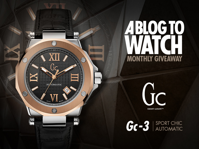 Watch Winner Announced: Gc GC-3 Automatic Giveaways