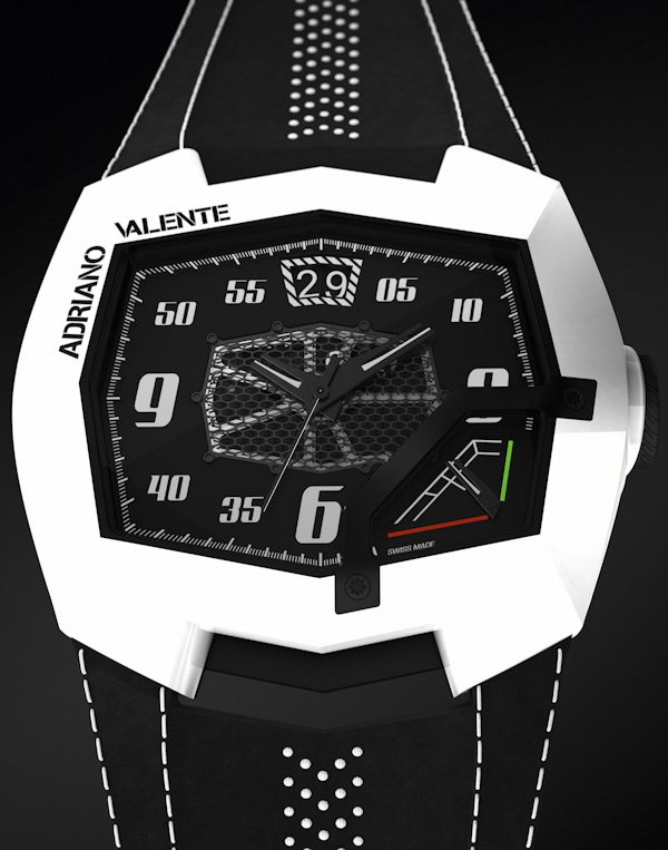 Adriano Valente AV-L001 Watch To Go With Your Lamborghini Watch Releases