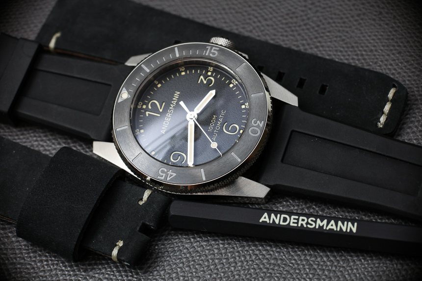 Andersmann Oceanmaster II 1000m Dive Watch Review Wrist Time Reviews