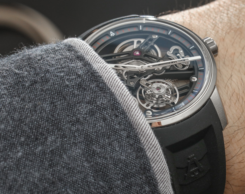 Angelus U40 Racing Tourbillon Skeleton Watch Hands-On Hands-On