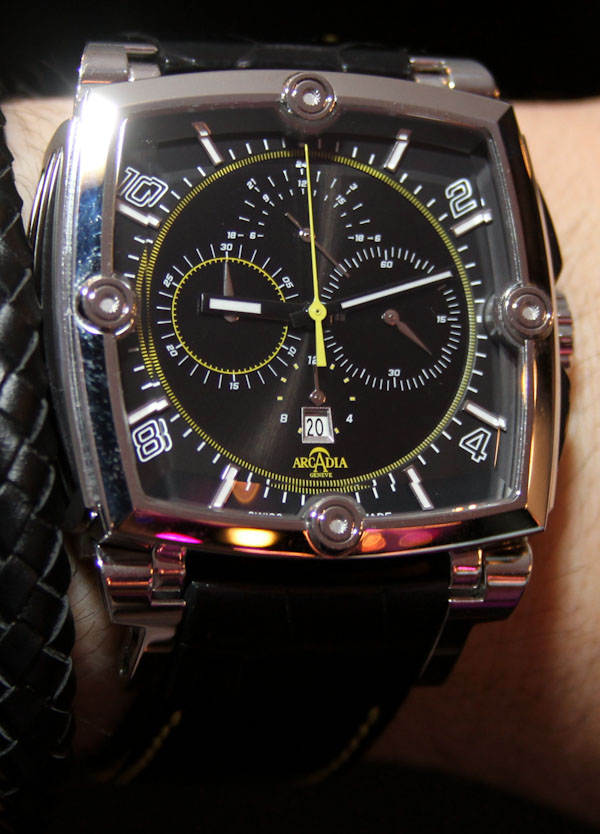 Arcadia AC01 Watches Hands-On Hands-On