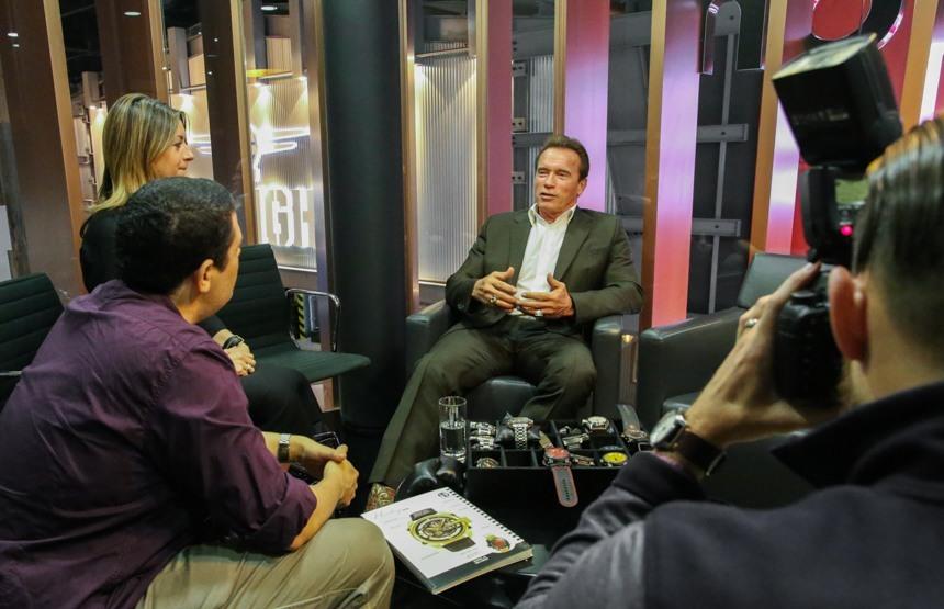 Arnold Schwarzenegger Watch Brand Debuts For 2015 Hands-On