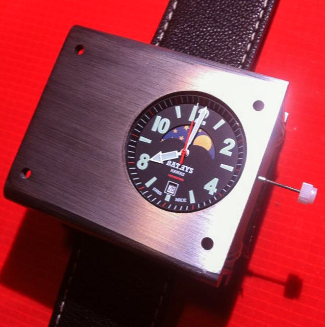 Bathys Cesium 133 Atomic Clock Wrist Watch Accurate To A Second Each 1000 Years Watch Releases