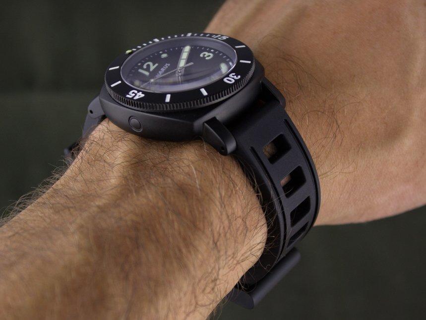 Benarus Moray 40mm Watch Review Wrist Time Reviews