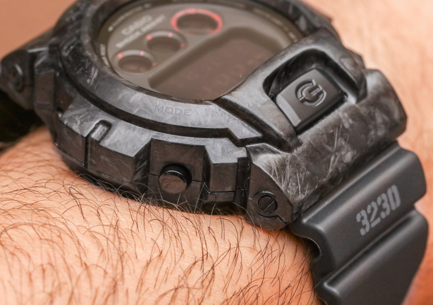 Casio G-Shock DW6900 With Forged Carbon Armour Case By Alvarae Watch Review Wrist Time Reviews