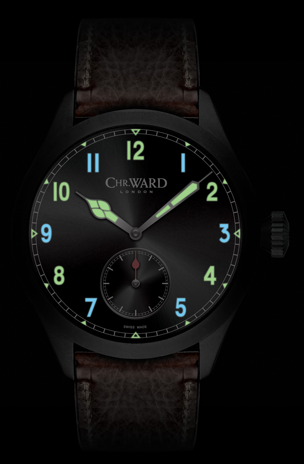 Christopher Ward C8 P7350 Chronometer Watch Silent Auction In Honour Of England's Remembrance Day Sales & Auctions