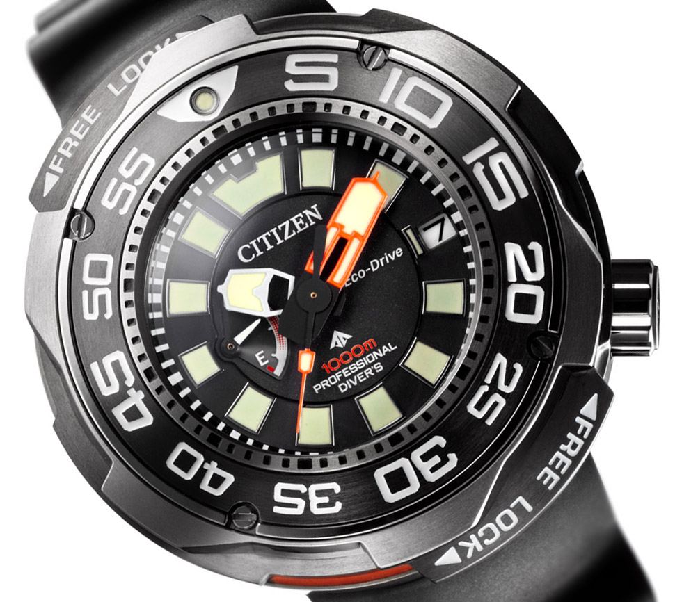 Citizen Promaster Eco-Drive Professional Diver 1000m Watch Watch Releases