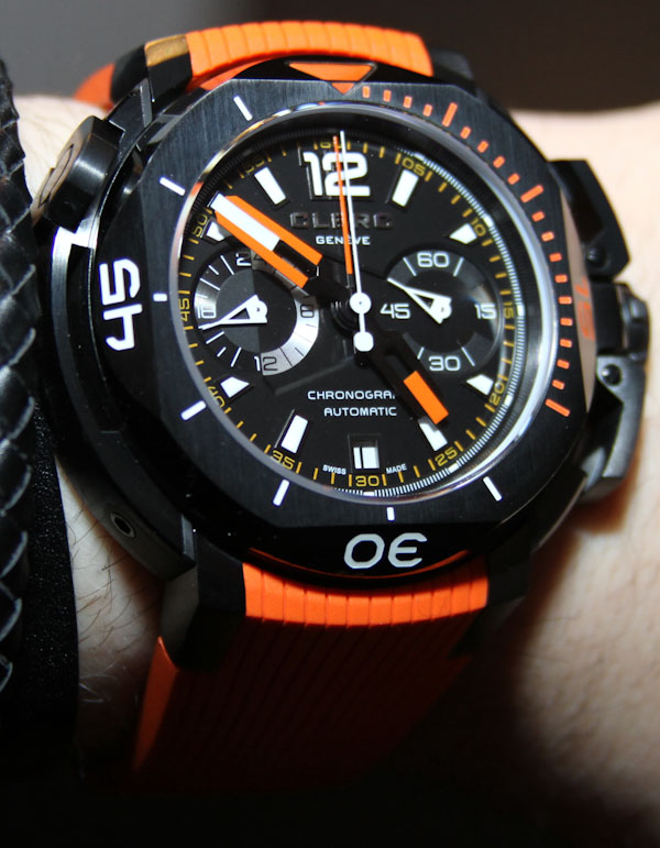 Clerc Hydroscaph Limited Edition Chronograph Watch Final Retail Versions Impress Hands-On