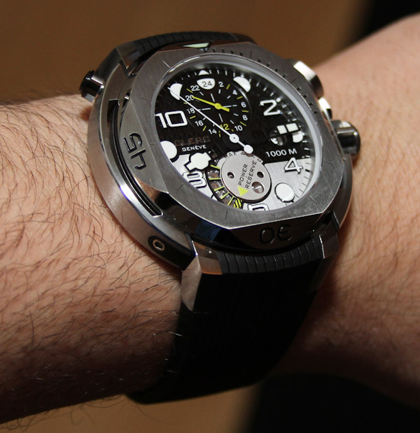 Clerc Hydroscaph GMT Watch Review Wrist Time Reviews