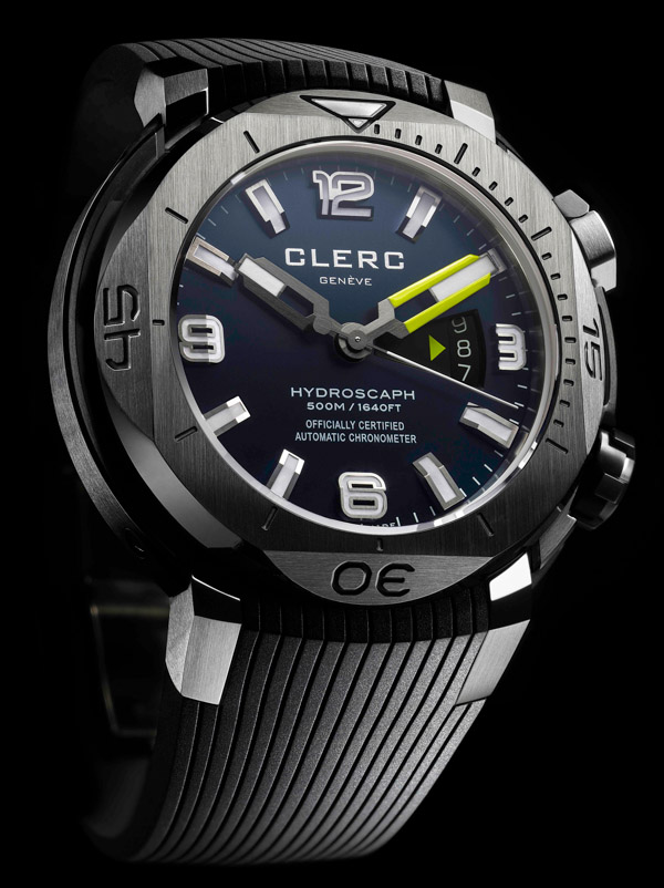 Clerc Hydroscaph H1 Watch Watch Releases