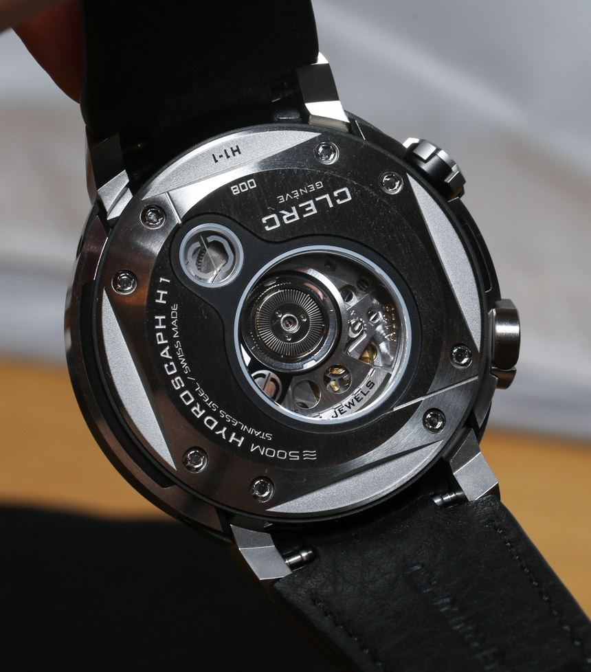 Clerc Hydroscaph H1 Watch Review Wrist Time Reviews