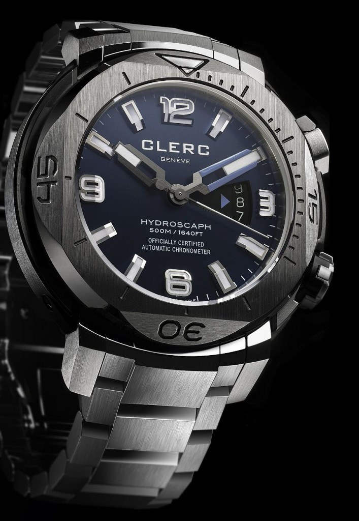 The Clerc Hydroscaph H1 Watch Now On A Bracelet Watch Releases