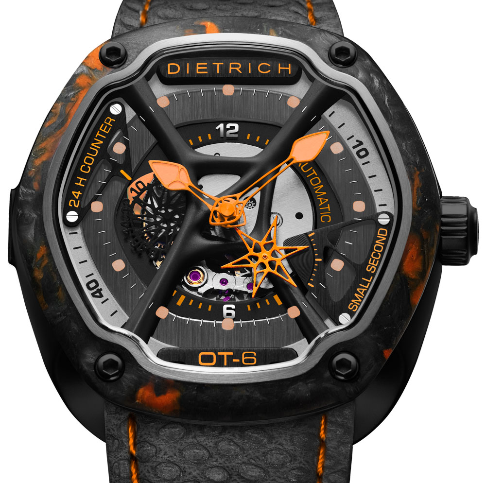 Dietrich O.Time Watches With Colorful Forged Carbon Bezels Watch Releases