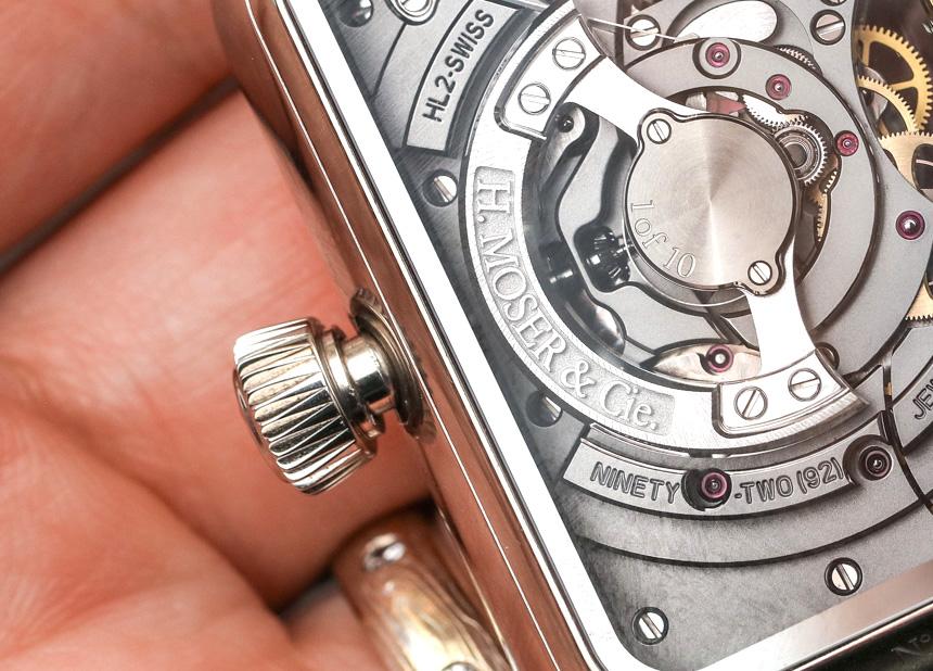 H. Moser & Cie Swiss Alp Watch Minute Retrograde Hands-On Hands-On