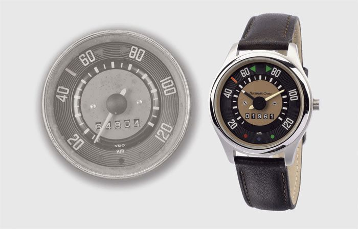 Bavarian Crono Offers Volkswagen Instrument Panel Homage Collection Of Watches (1946-1970s) Watch Releases