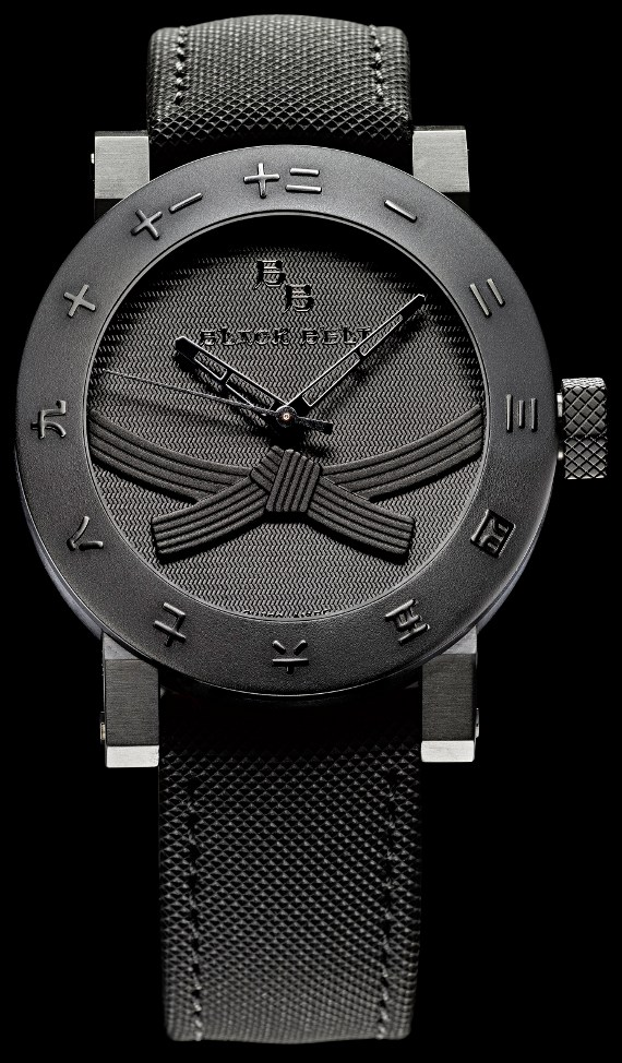 The Black Belt Watch, Only For People With Black Belts Watch Releases