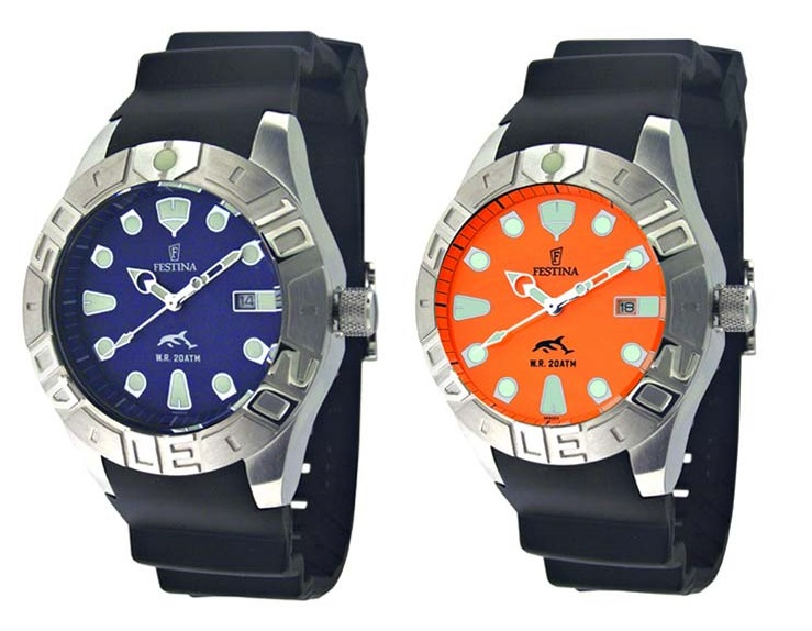 Festina Profundo Dive Watch Comes In Bag Filled With Water Watch Releases