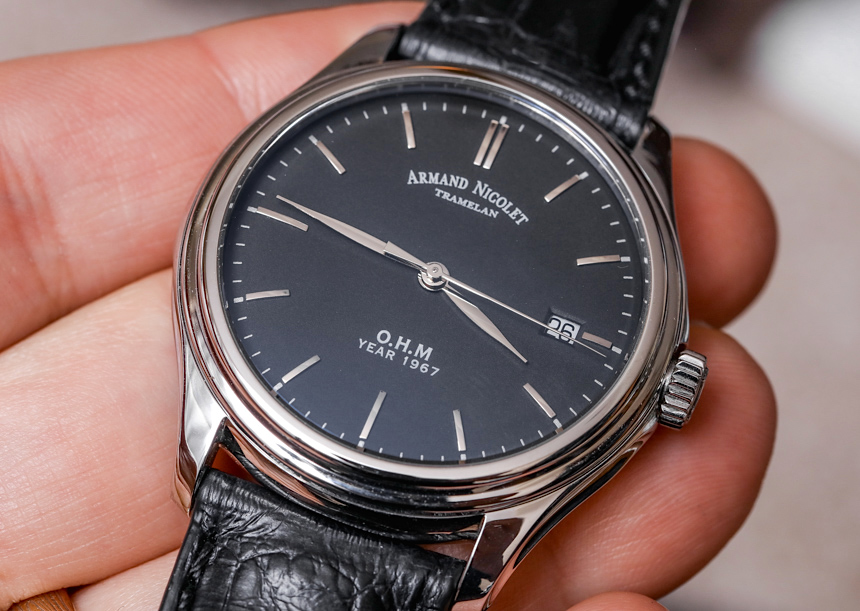 Armand Nicolet O.H.M L15 Watch Review Wrist Time Reviews
