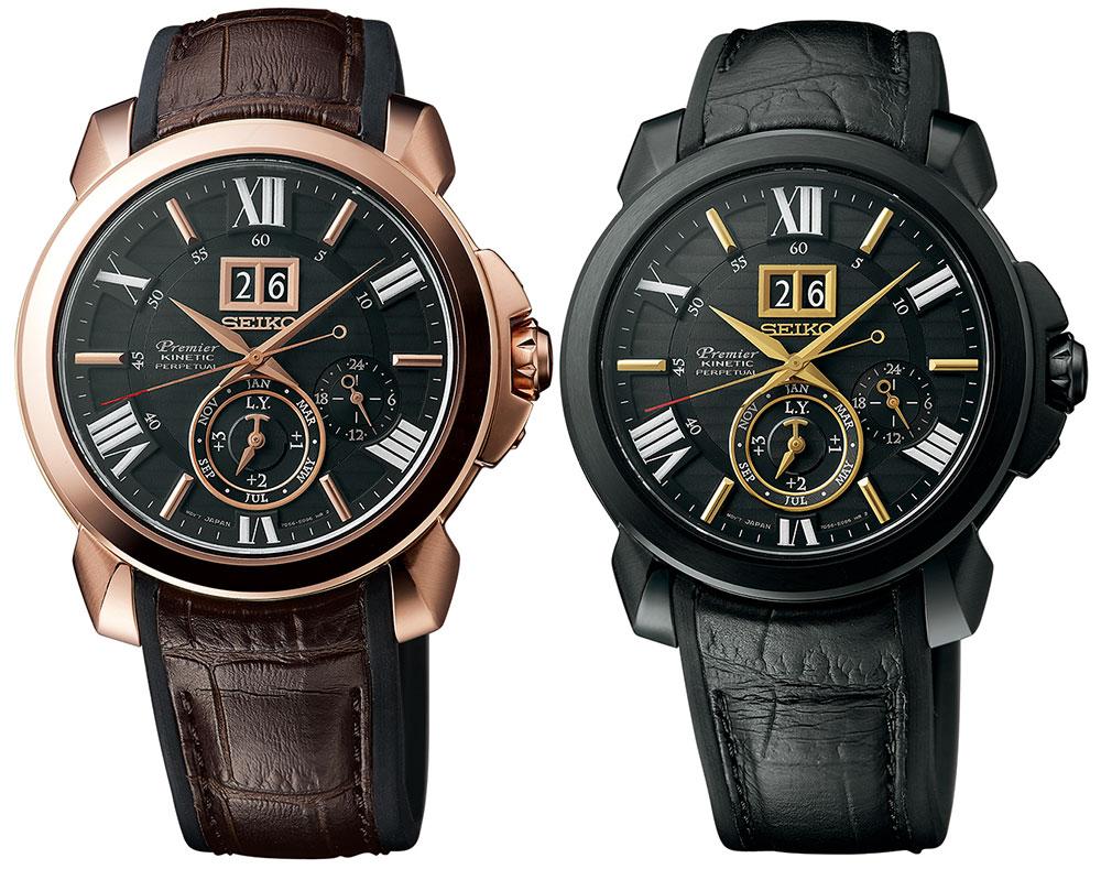 Seiko Premier Kinetic Perpetual Novak Djokovic Special Edition Watch Watch Releases
