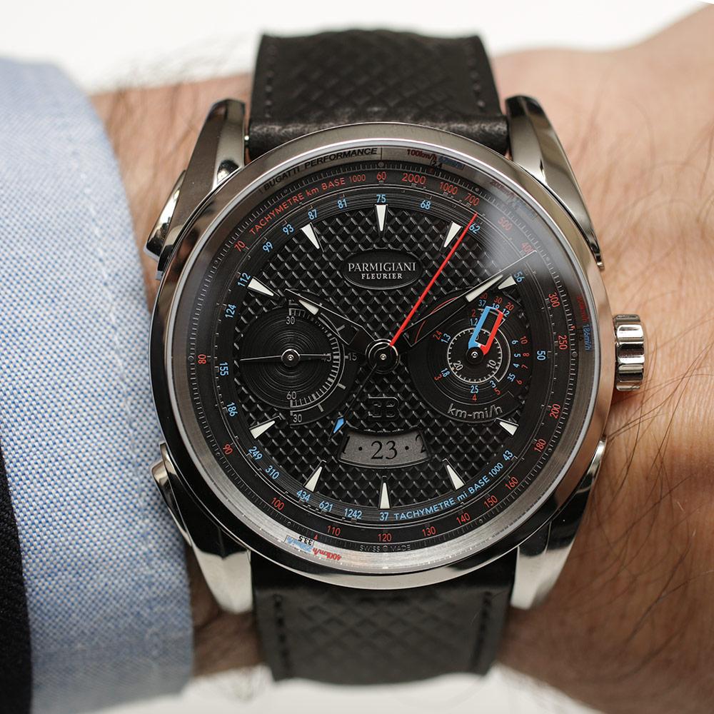 Parmigiani Fleurier Bugatti Aerolithe Performance Titanium Watch Hands-On Hands-On