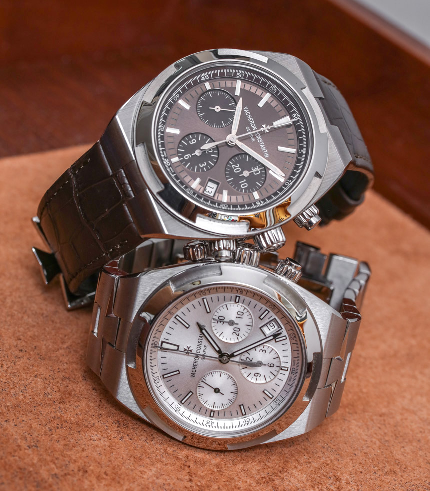 Vacheron Constantin Overseas Chronograph 5500V Watch Review Wrist Time Reviews