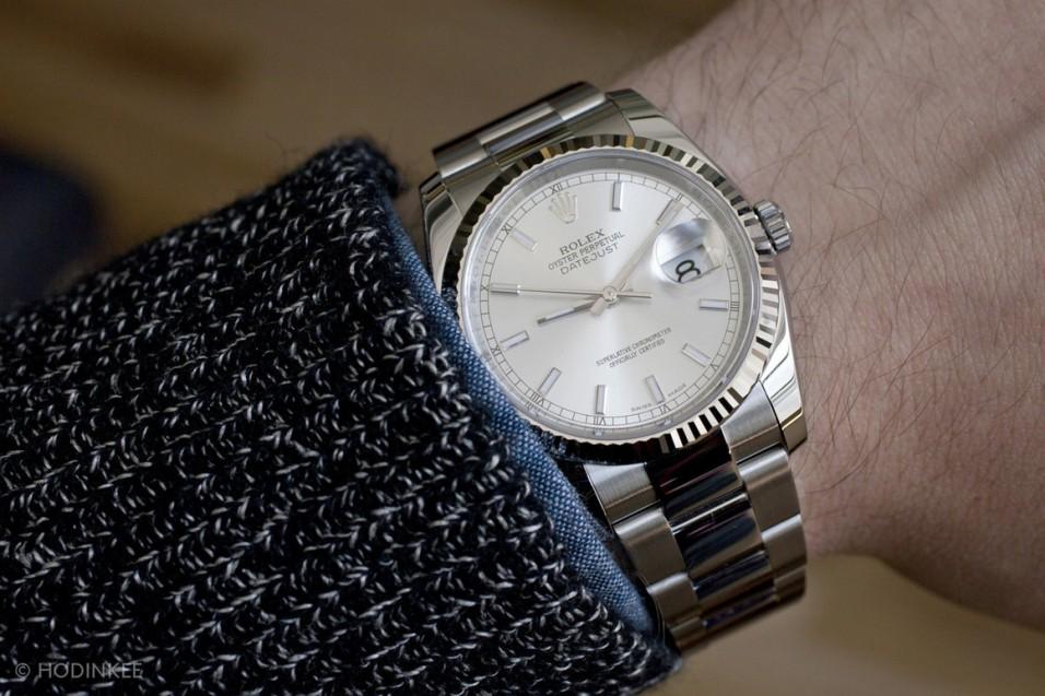Per Week Around The Wrist The Rolex Watch Datejust