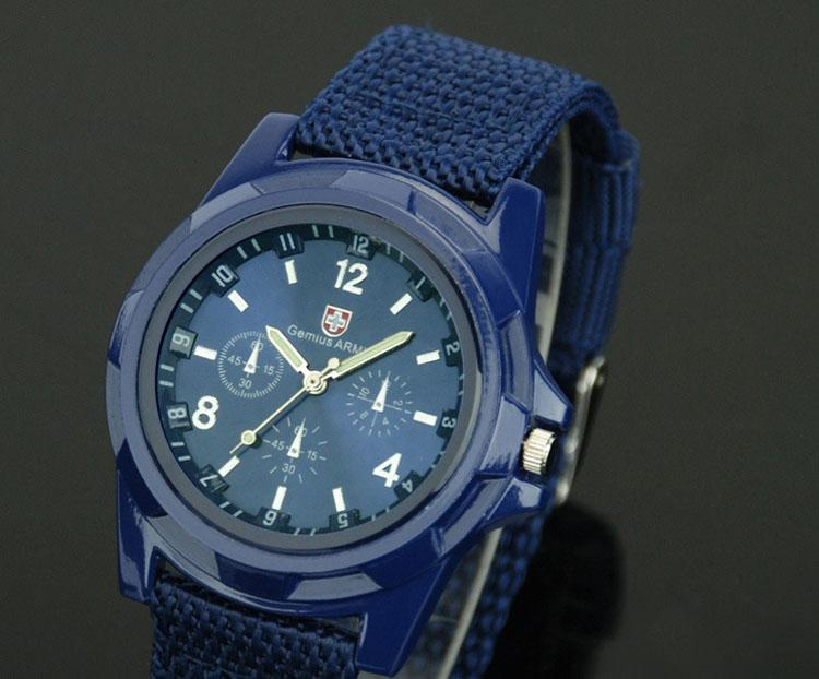 Hot Swiss Army woven strap watches for men