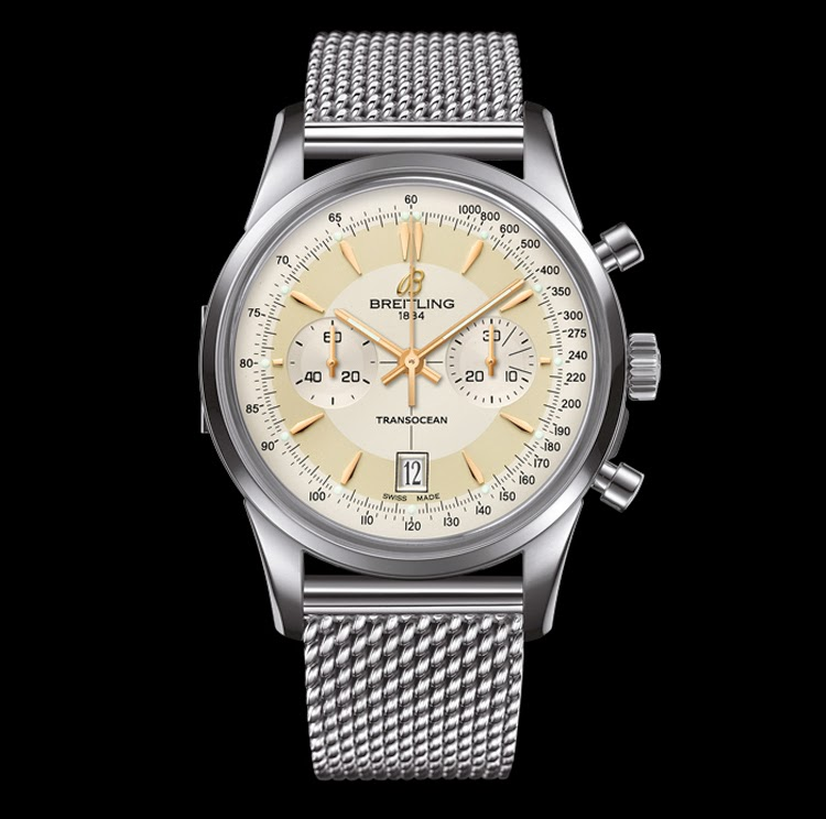 Luxury Breitling Limited Edition Chronograph Movement