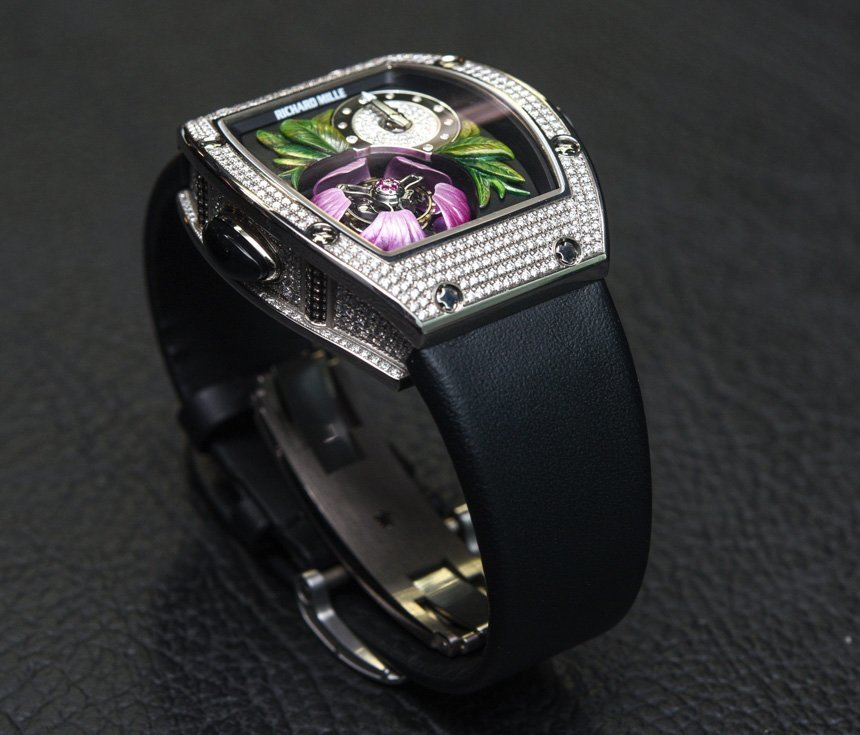 A Quite Special Watch With Stunning dial-Richard Mille Tourbillon Fleur