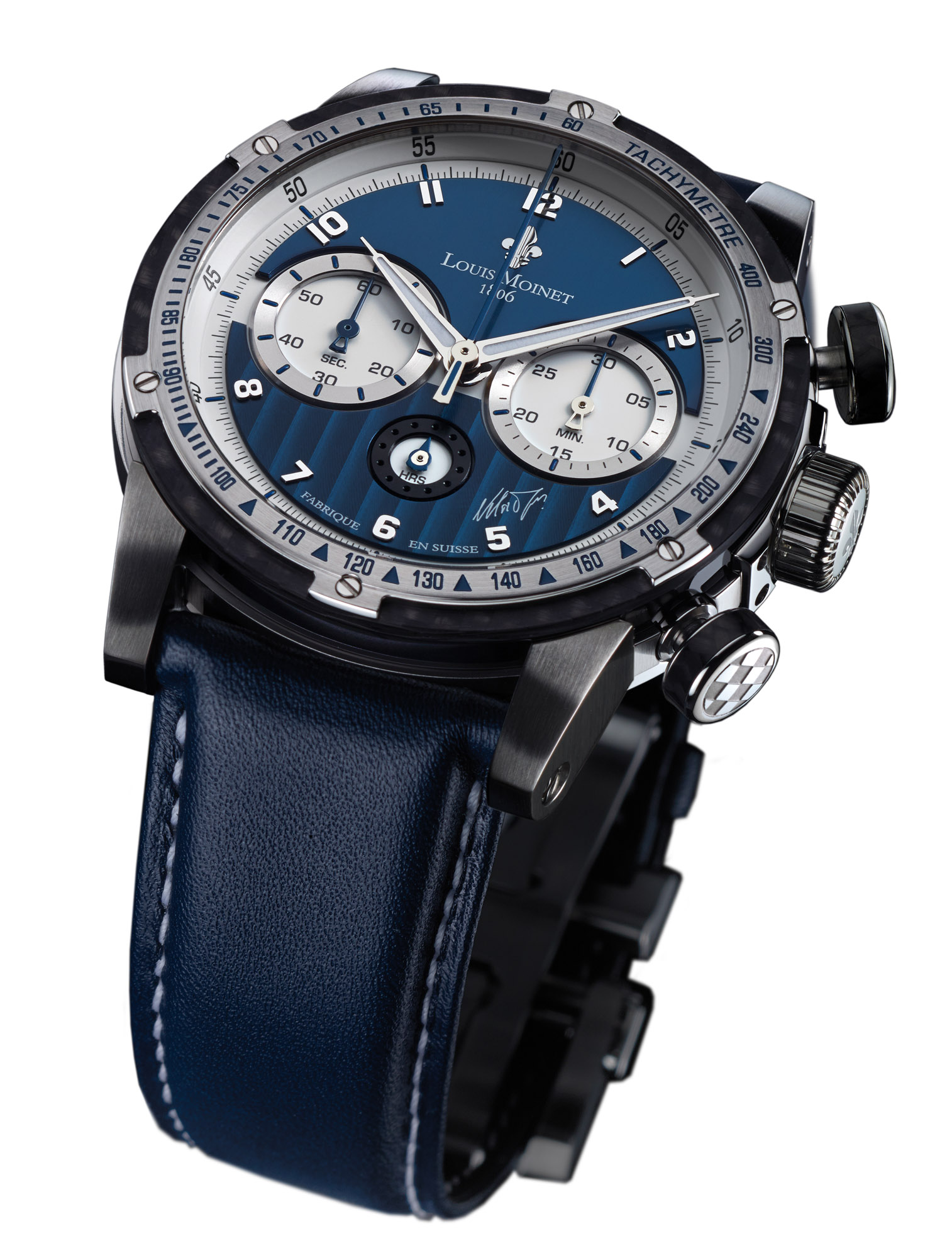A Stylish Watch For Men-Louis Moinet Nelson Piquet Chronograph