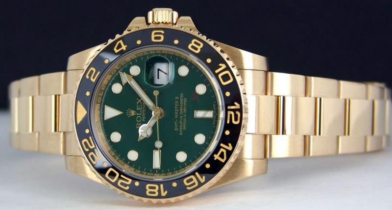 Rolex Golden Yellow Watch