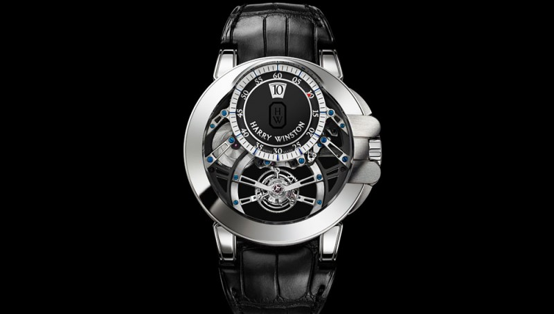 Harry Winston Mechanical Movement-Harry Winston Tourbillon Jumping Hour