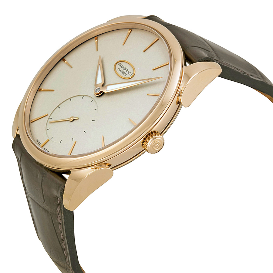 Elegant Rose Gold Men's Watch-Tonda 1950