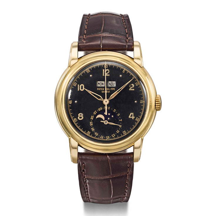 Valuable Patek Philippe Vintage Watch Made In 1950S