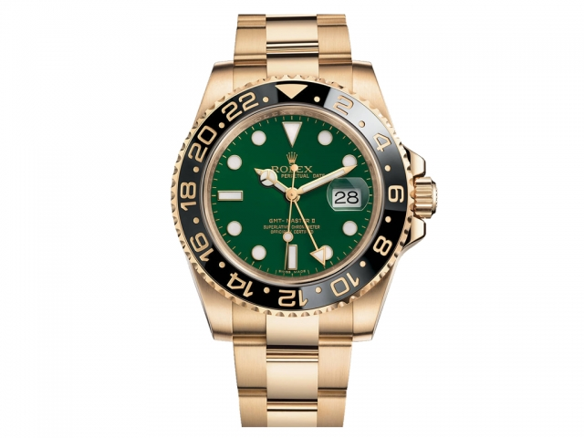 Rolex Golden Yellow Watch