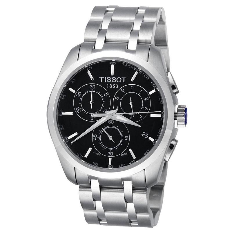 Tissot fashion sports men's stainless steel watch