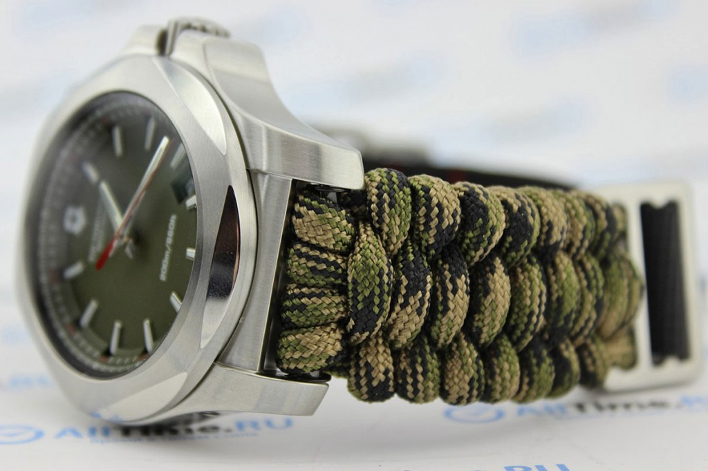 Victorinox Army Watch With Paracord Strap
