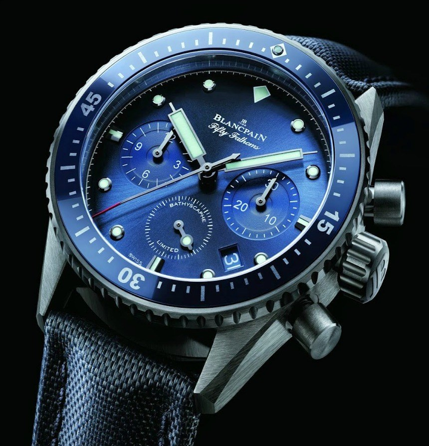 Blacpain Iconic Diving Watch -Ocean Commitment Bathyscaphe Chronographe Flyback