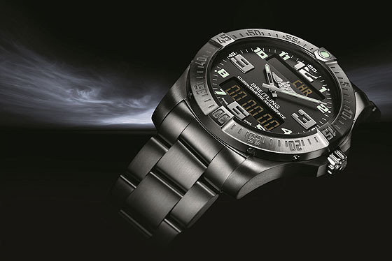Side of Breitling Aerospace Evo