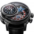 Front of of Harry Winston Opus 14 limited edition watch