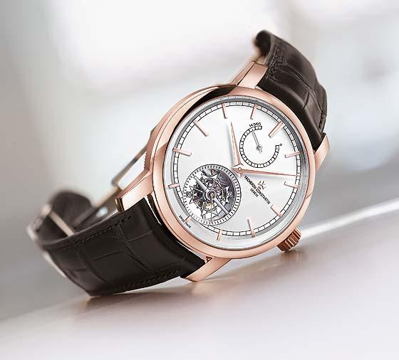Vacheron Constantin Luxury Rose Gold Tourbillon Watch