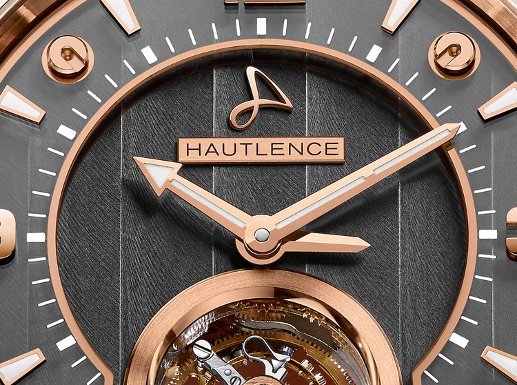 Hautlence tourbillon watch-tourbillon 01's dial 03