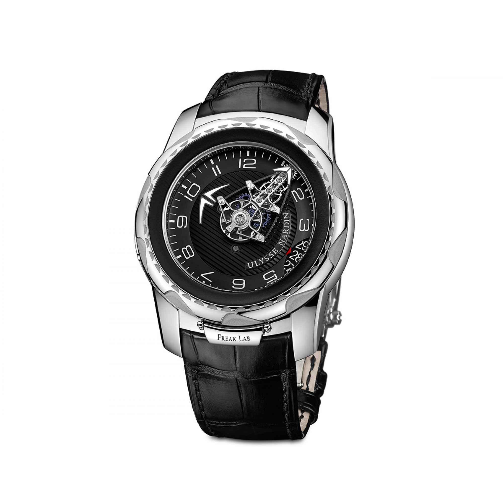 Unique Ulysse Nardin 18k White Gold FreakLab Watch