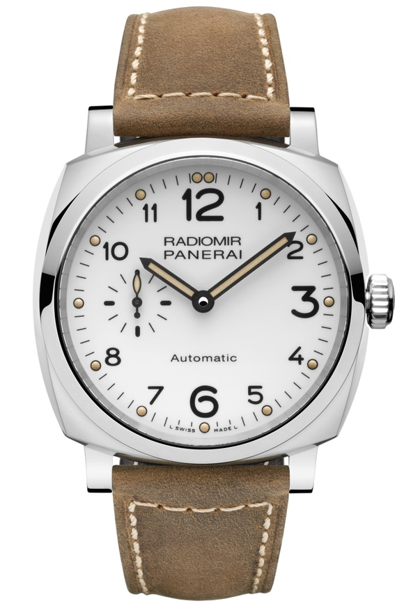 Front of Panerai Radiomir 1940 3 Days Automatic Acciaio 42mm