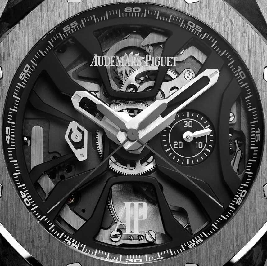 Audemars Piguet Royal Oak Concept Laptimer titanium watch dial