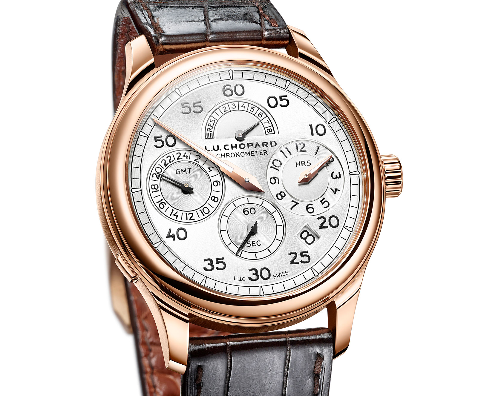 Side of Chopard L.U.C Regulator watch 02