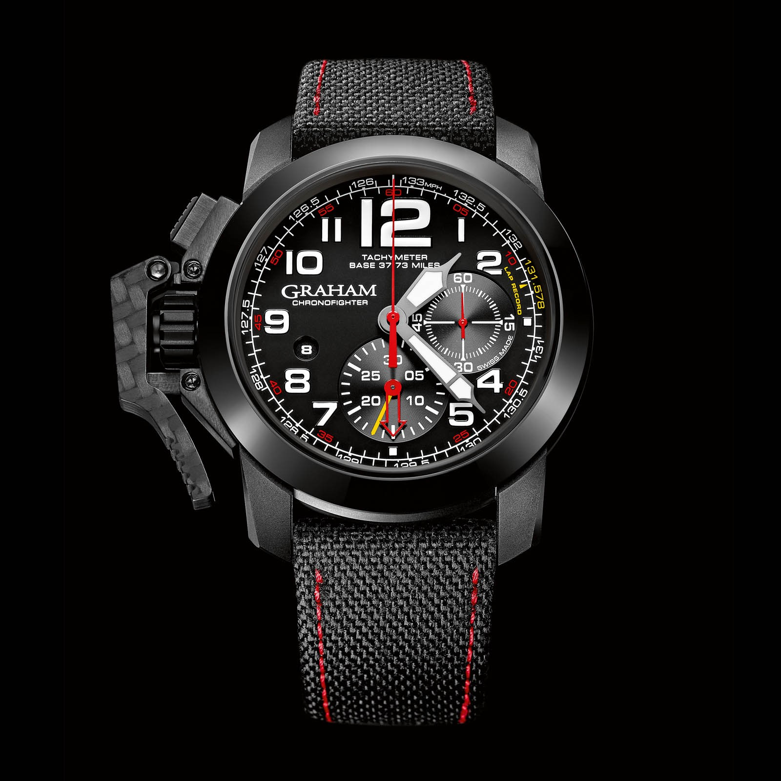 Front of Graham Chronofighter Oversize Superlight TT