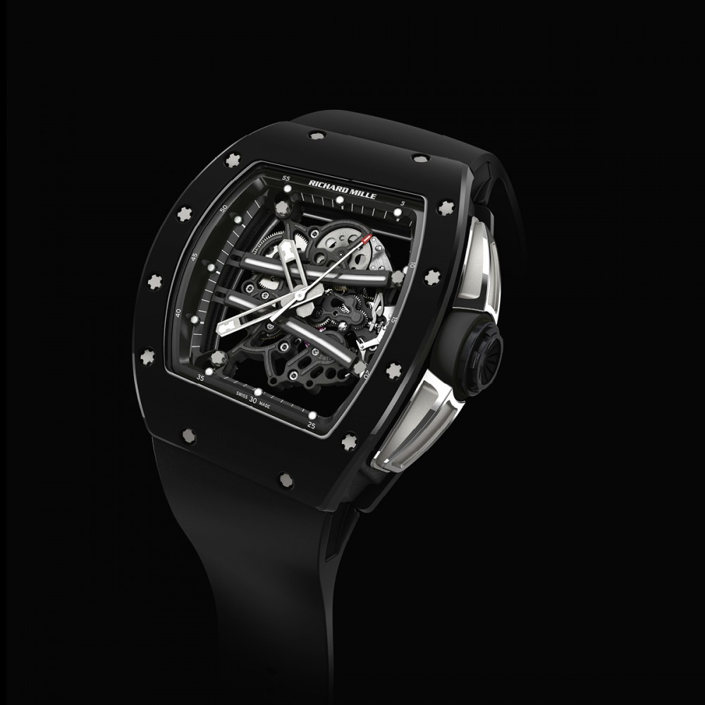 Side of Richard Mille RM 61-01 Yohan Blake limited edition 02